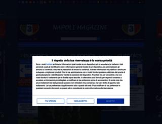 napolimagazine.com screenshot