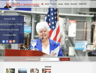 napolitano.house.gov screenshot