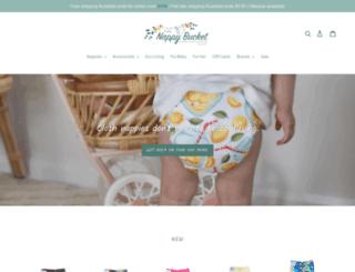 nappybucket.com.au screenshot