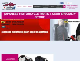 naps-moto.com.au screenshot