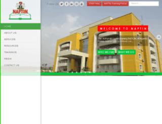 naptin.org.ng screenshot