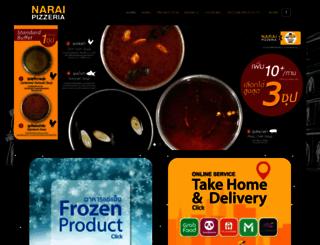 naraipizzeria.com screenshot