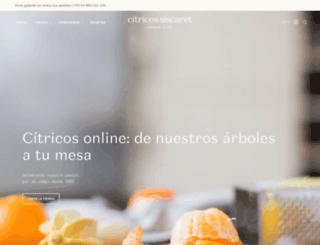 naranjasaldia.es screenshot