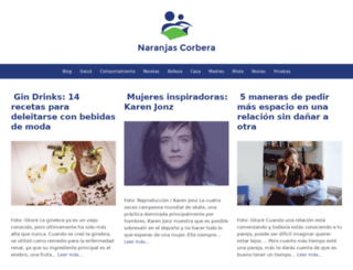naranjascorbera.com screenshot