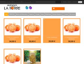 naranjaslatorre.com screenshot