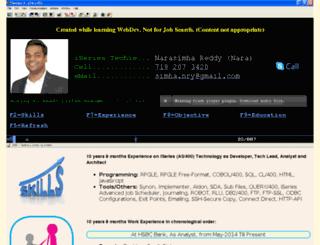 narasimhareddy.com screenshot