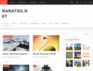 naratas.net screenshot