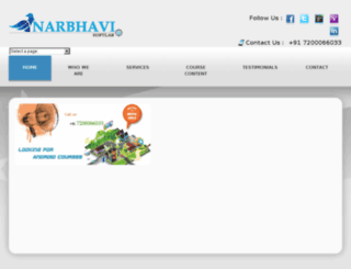 narbhavisoftlab.com screenshot