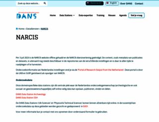 narcis.nl screenshot