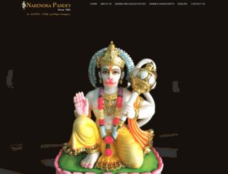 narendrapandey.com screenshot