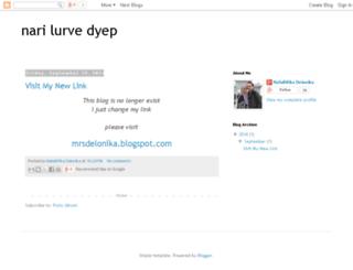 narilurvedyep.blogspot.com screenshot