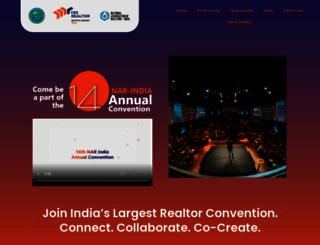 narindiaconvention.com screenshot