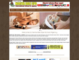 naritabalispaschoolagency.com screenshot