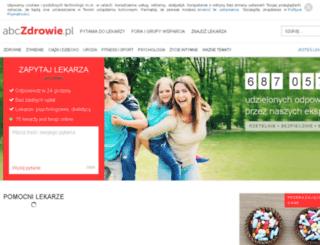 narkomania.abczdrowie.pl screenshot