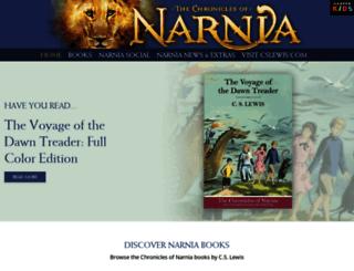 narniathegame.com screenshot