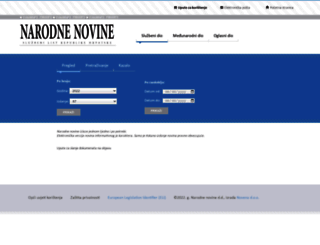 narodne-novine.nn.hr screenshot