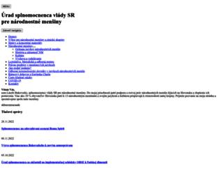 narodnostnemensiny.gov.sk screenshot