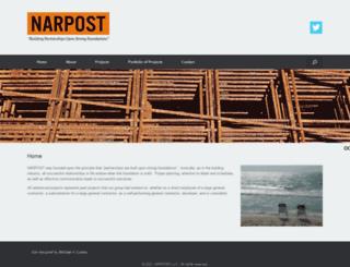 narpostllc.com screenshot