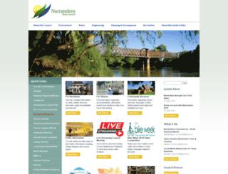 narrandera.nsw.gov.au screenshot