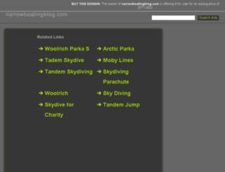 narrowboatingblog.com screenshot