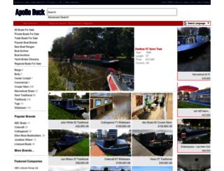 narrowboats.apolloduck.co.uk screenshot