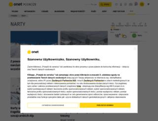 narty.onet.pl screenshot