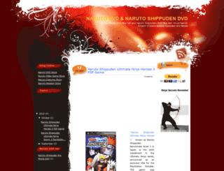 naruto-dvd.blogspot.com screenshot