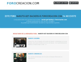naruto-get-backers-r.forocreacion.com screenshot