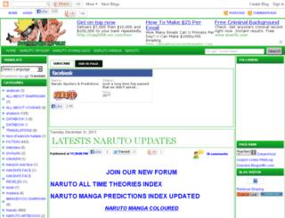 naruto-mangaspoiler.blogspot.com screenshot