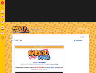 naruto.wikia.com screenshot