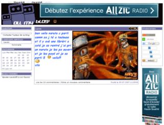 naruto85.allmyblog.com screenshot