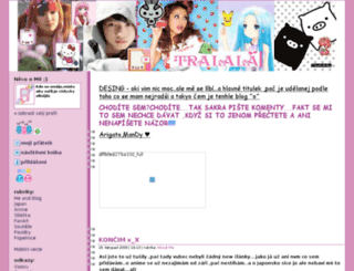 narutoanime.pise.cz screenshot