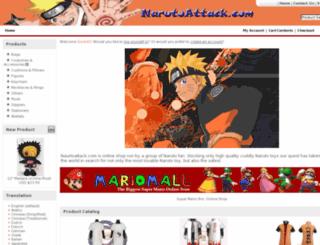 narutoattack.com screenshot