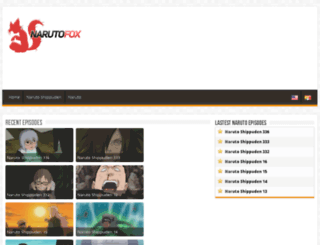 narutofox.tv screenshot