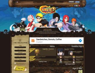narutogame.com.br screenshot