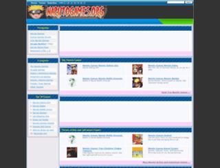 narutogames.org screenshot