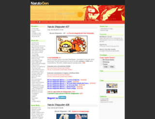 narutogen.com screenshot