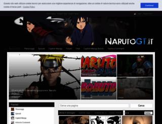 narutogt.it screenshot