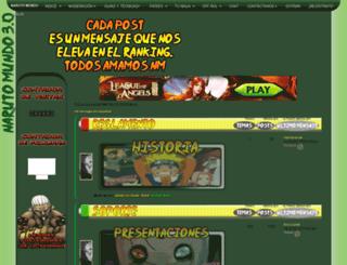 narutomundo.foroactivo.com.es screenshot