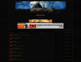 narutorol.foroactivo.com screenshot