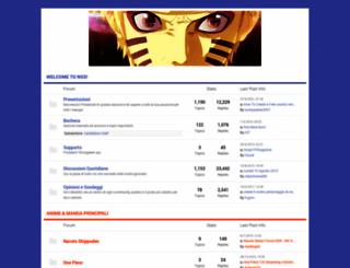 narutoshippudenstorm.forumcommunity.net screenshot