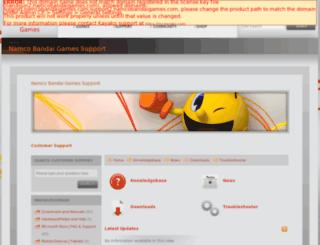 narutoun2.namcobandaigames.com screenshot