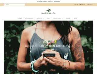 narwhalcompany.com screenshot