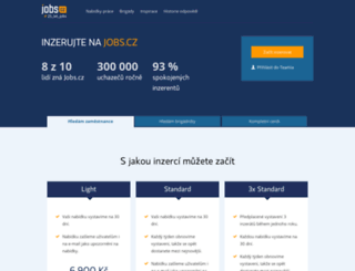 nas.jobs.cz screenshot