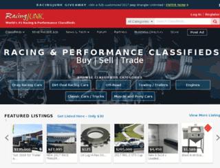 nasa.racingjunk.com screenshot