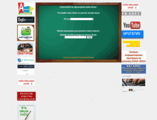 nasaskola.rs screenshot