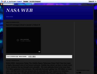 nasaspacediscovery.blogspot.com.br screenshot