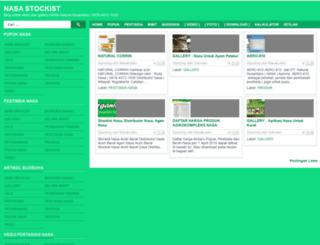 nasastockist.blogspot.com screenshot