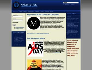 nasciturus.com screenshot