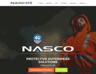 nascoinc.com screenshot